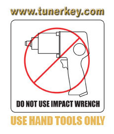 Use Hand Tools Only